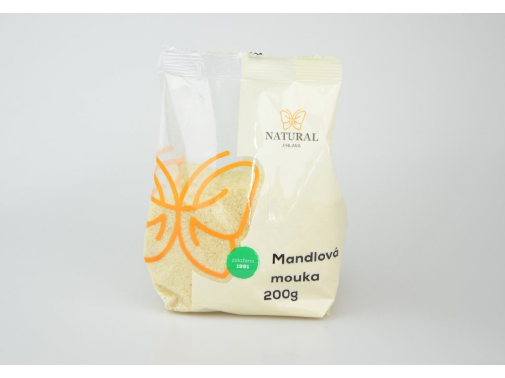 Mouka mandlová jemně mletá Natural 200g
