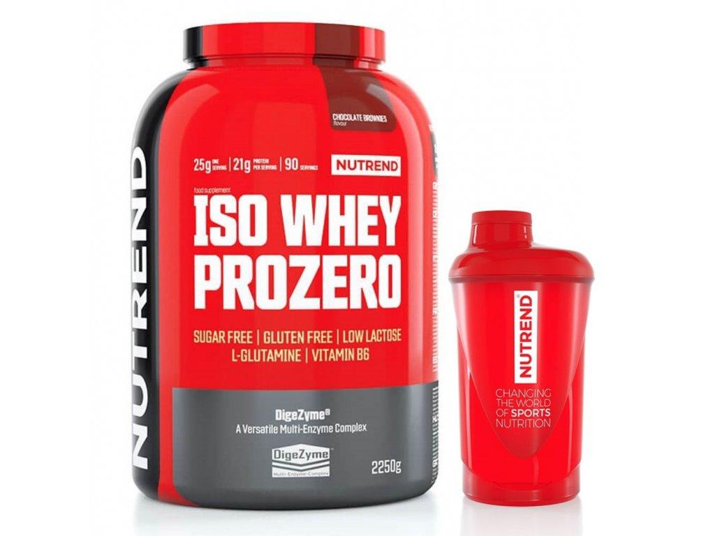 ISO Whey ProZero 2,25kg + šejkr