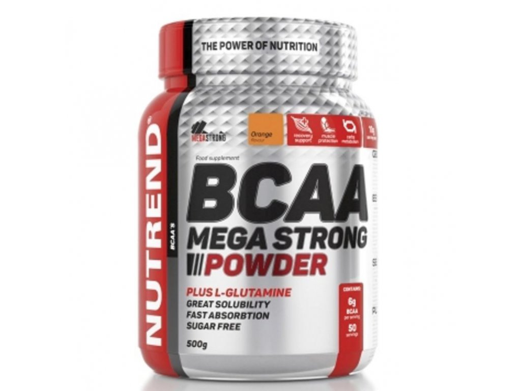 BCAA Mega Strong Powder NUTREND 500g