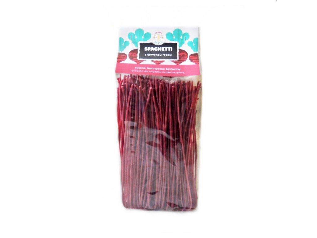 spaghetti s červenou řepou 250g