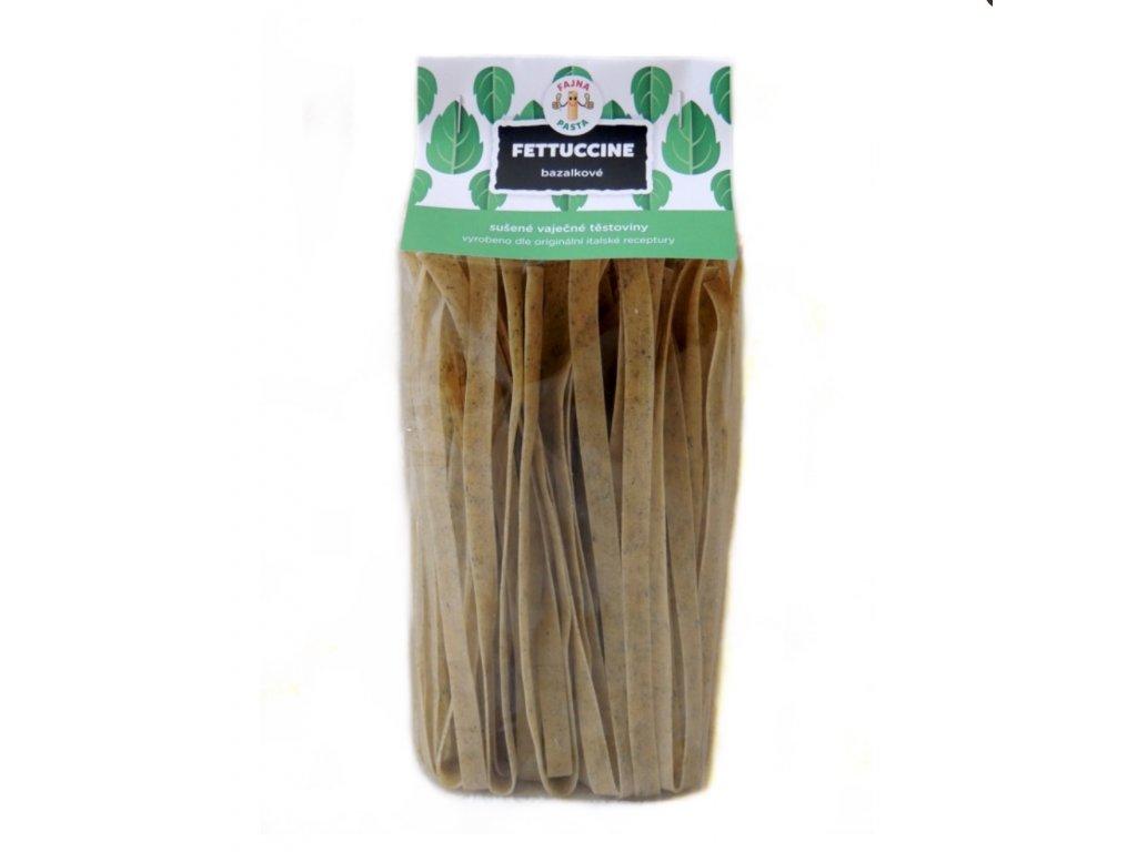 Fettuccine bazalkové 250g