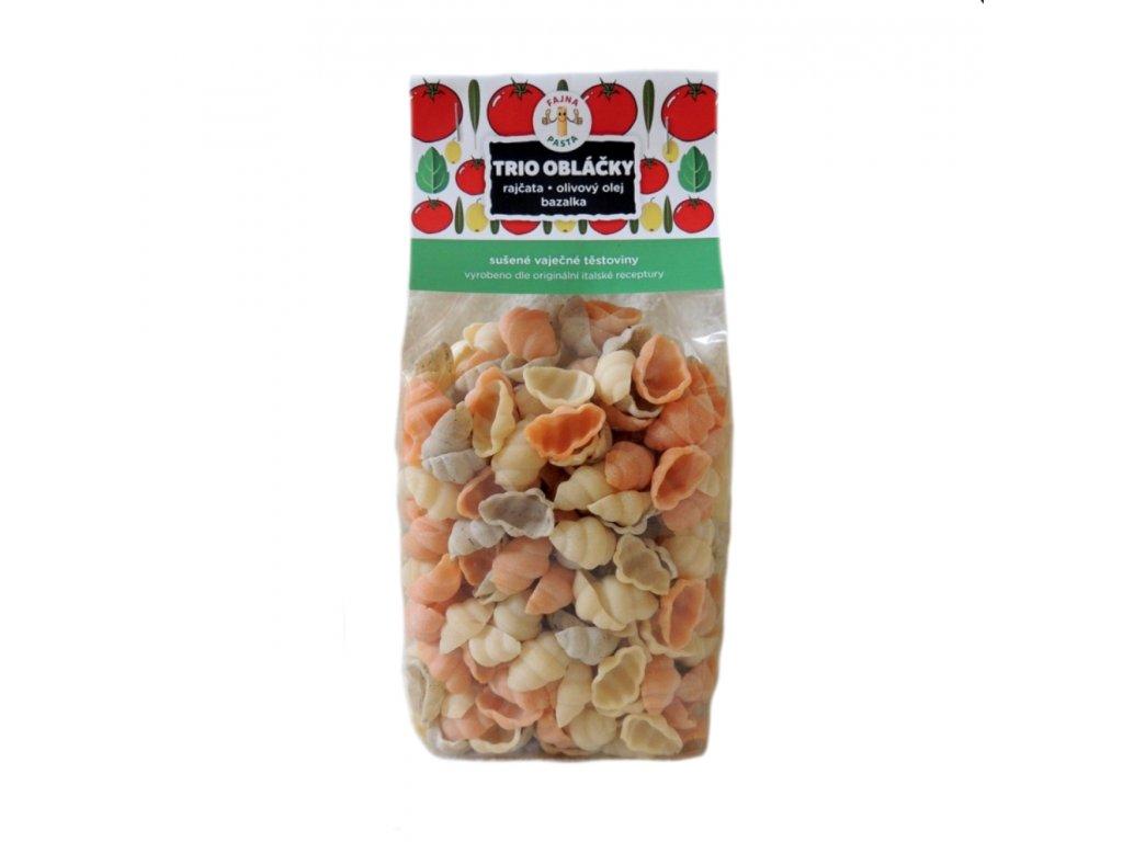 TRIO obláčky (rajčata,olivový olej,bazalka) 400g