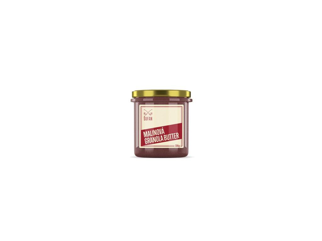 Granola Butter malinová 330g