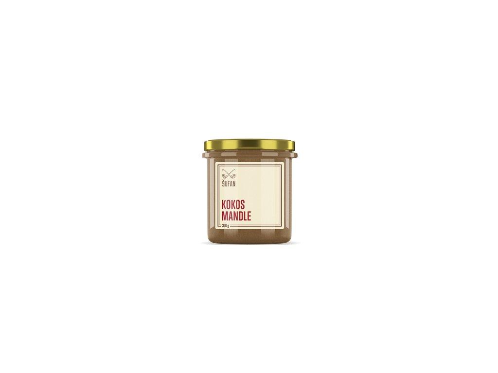 Kokos - Mandle 300g (Kokosovo-mandlový krém)