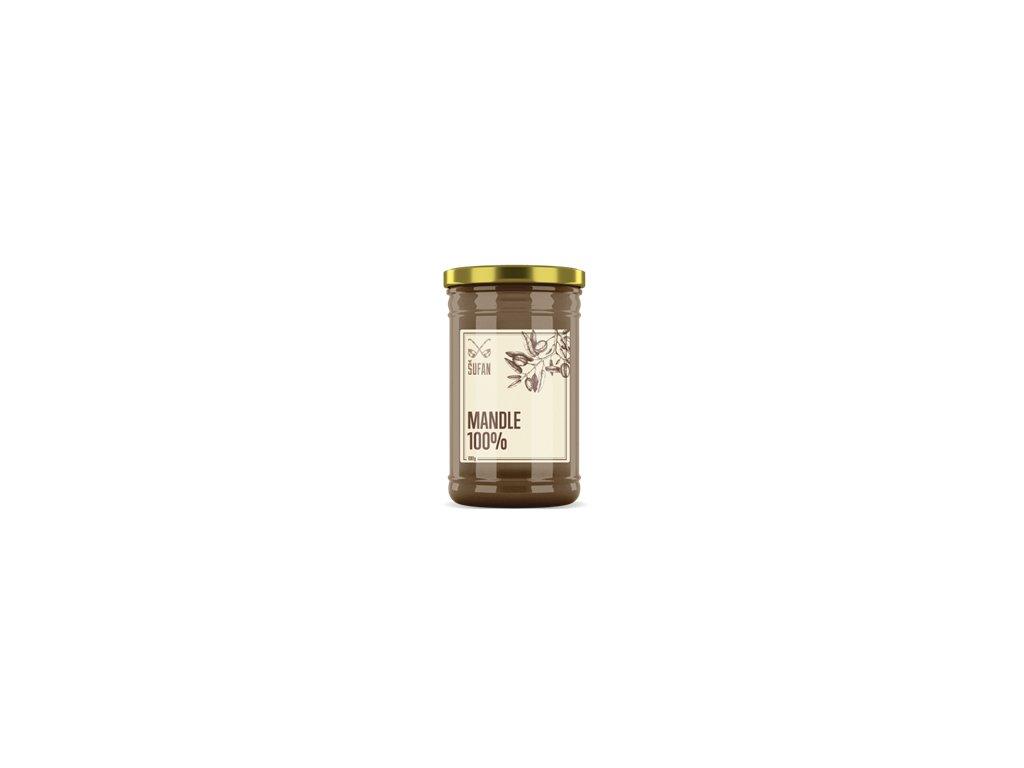 Mandle 100% pražené mělněné 1000g (Mandlový krém)