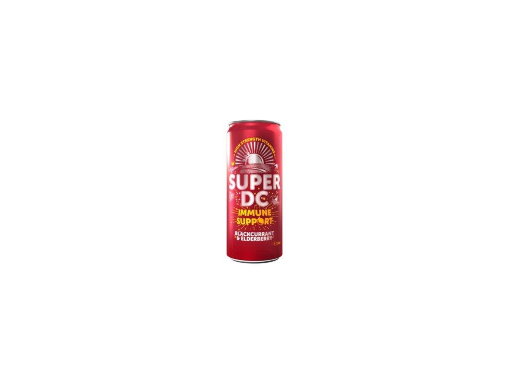 Super DC Immune Support blackcurrant elderberry 250ml