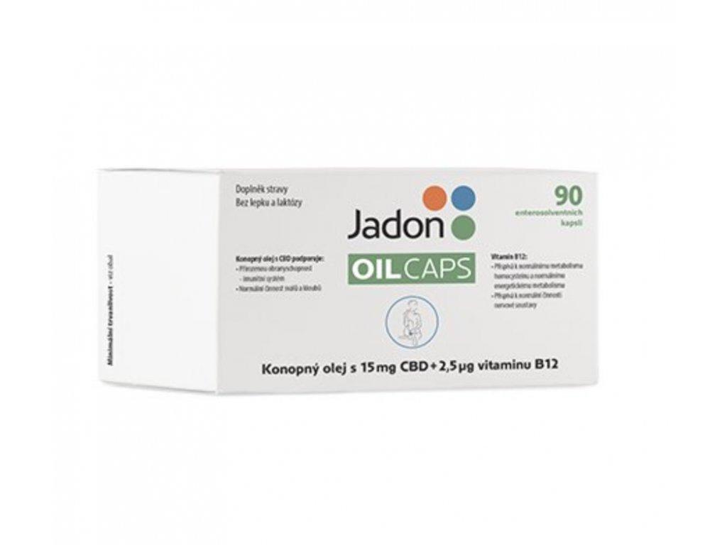 Jadon OIL CAPS 90 cps. 15 mg CBD a vit. B12