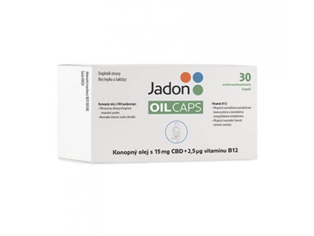 Jadon OIL CAPS 30 cps. 15 mg CBD a vit. B12