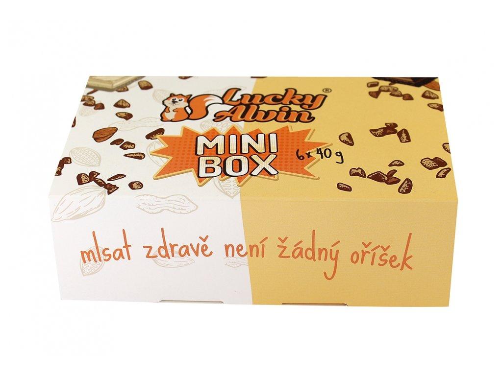 Mini Box (6x40g) Lucky Alvin