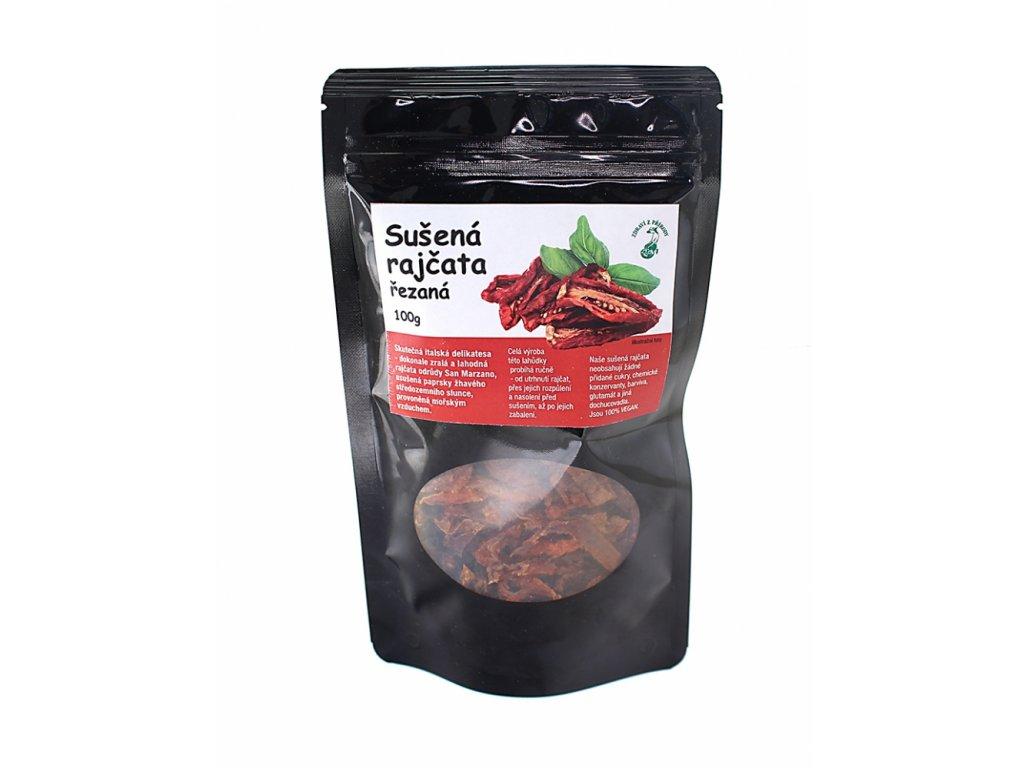 Rajčata sušená výběrová - řezaná 100g ZP