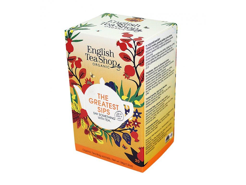 English Tea Shop - mix 5 příchutí Ty nejlepší doušky BIO