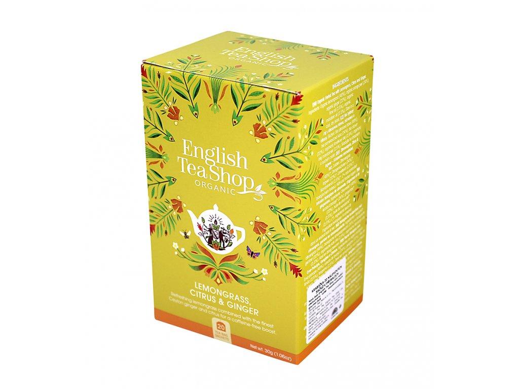 English Tea Shop - citronová tráva, zázvor BIO