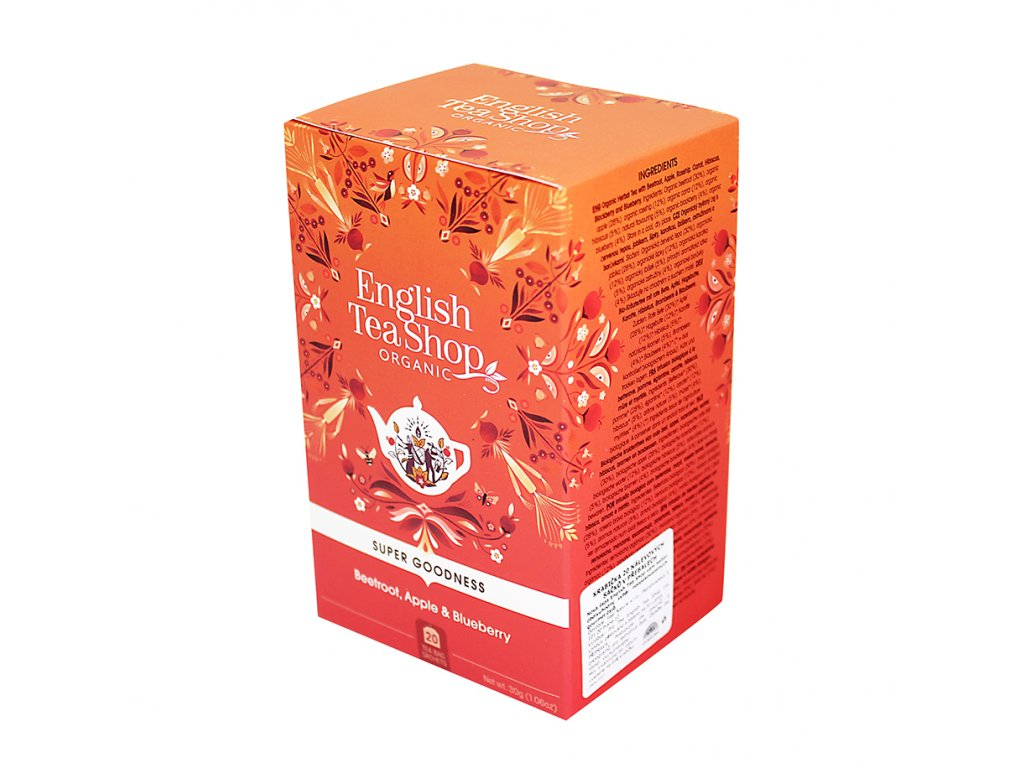 English Tea Shop - jablko, šípek, skořice BIO
