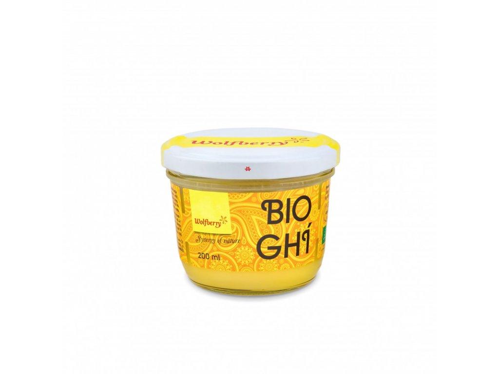 Ghí přepuštěné máslo 200ml Wolfberry