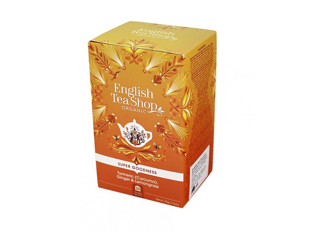 English Tea Shop - kurkuma, zázvor, citronová tráva BIO