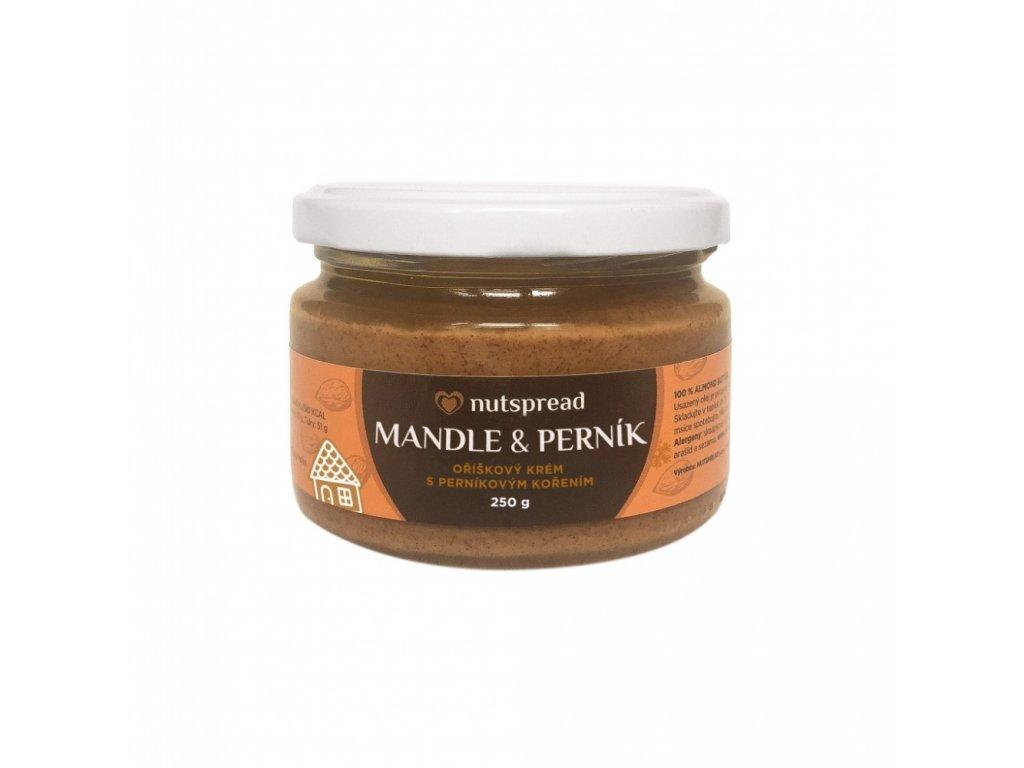 Mandlový krém s perníkem 250g Nutspread