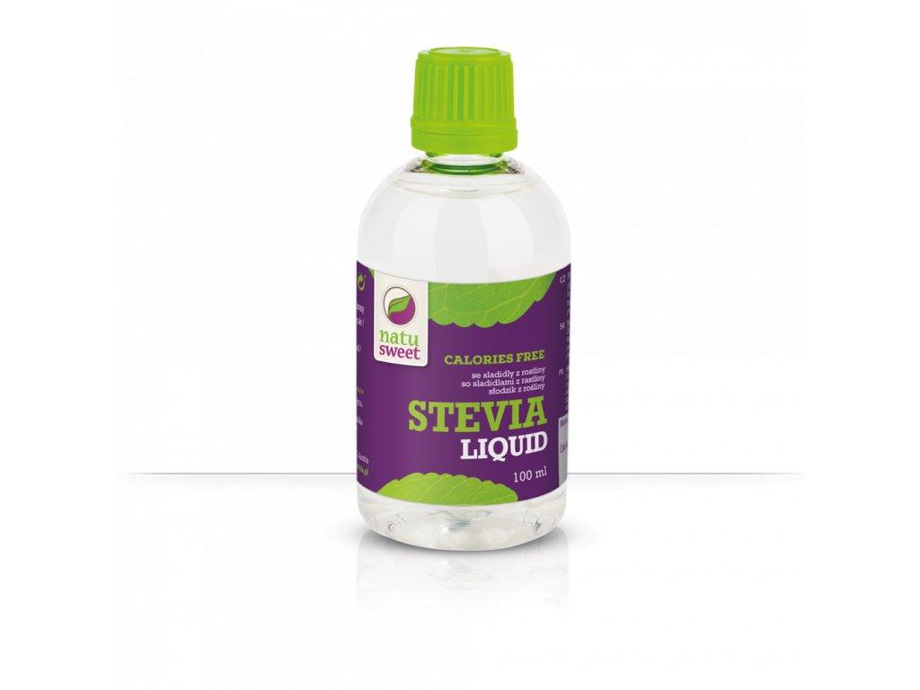 Stevia tekutá liquid 100ml Natusweet