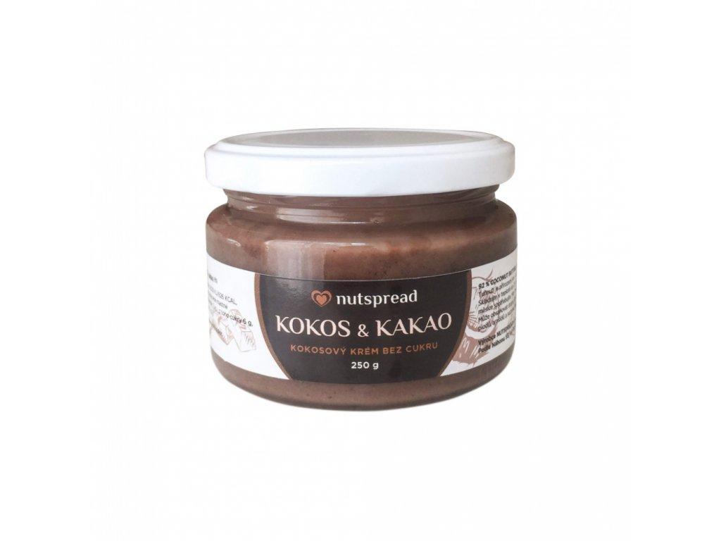 Kokosový krém s kakaem 250g Nutspread