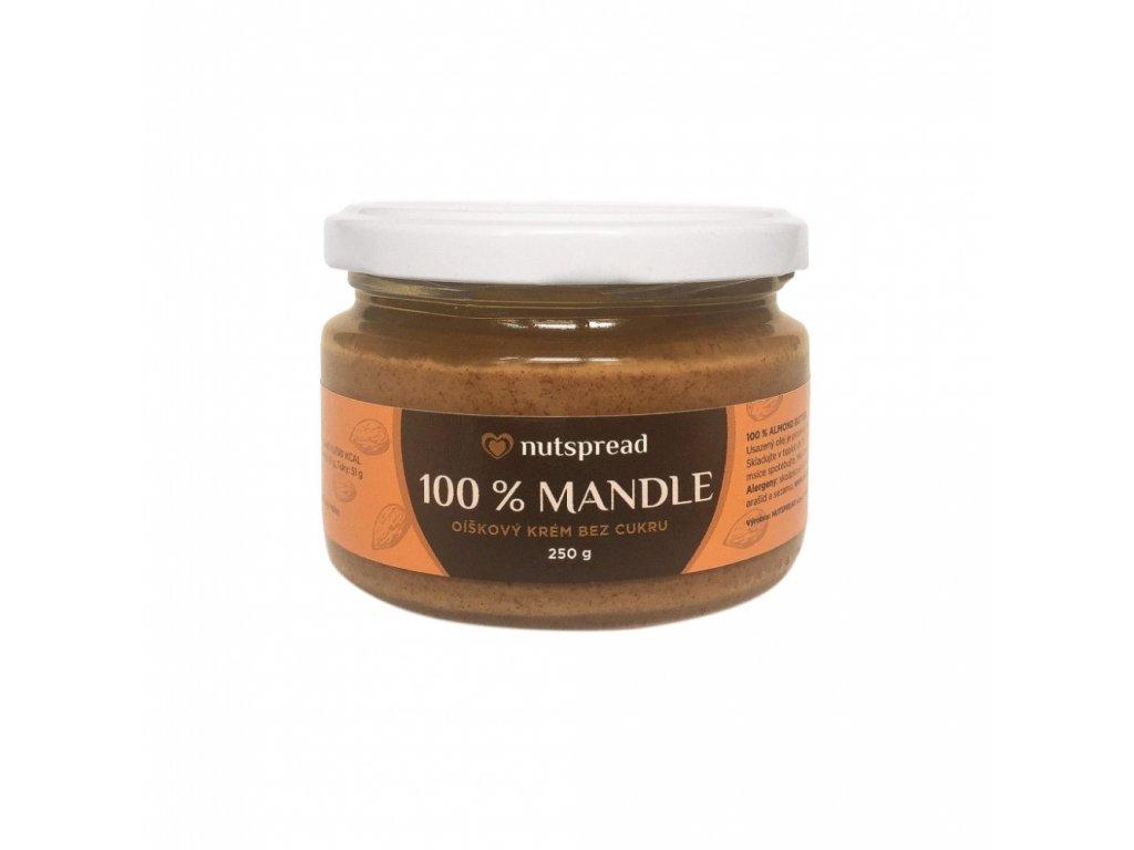 Mandlový krém 250g Nutspread