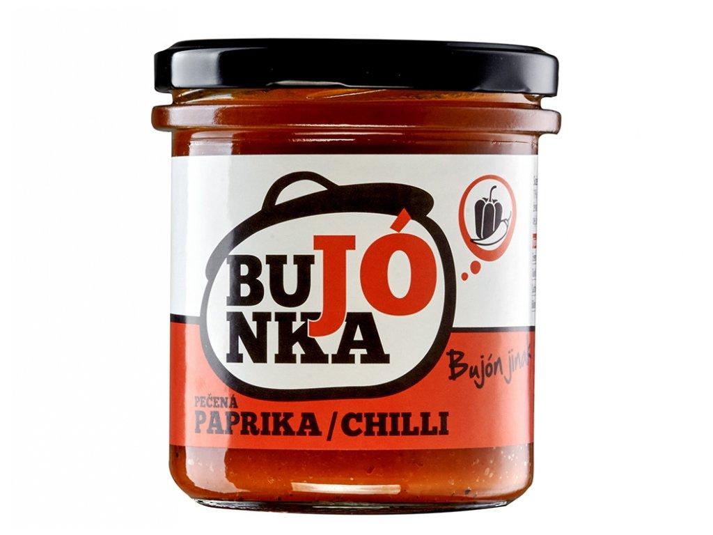 Bujónka pečená paprika s chilli 330g