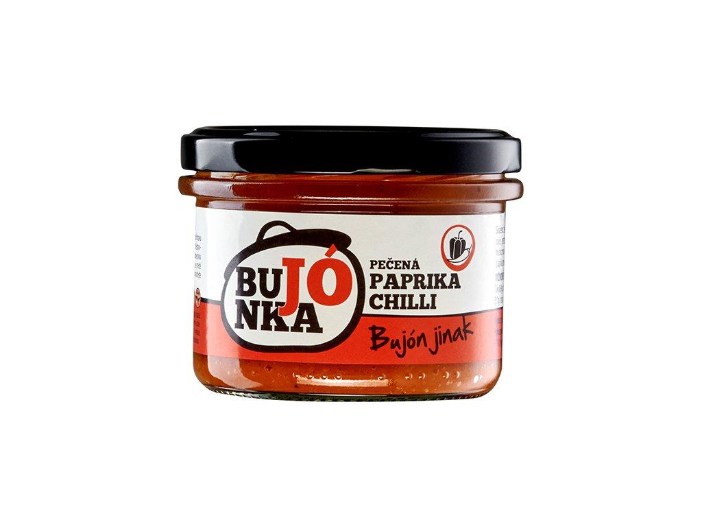 Bujónka pečená paprika s chilli 220g