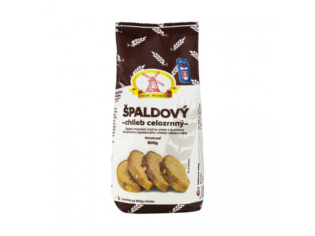 Špaldový chléb celozrnný 500g PD Sokolce