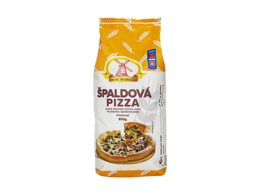 Špaldová pizza 500g PD Sokolce