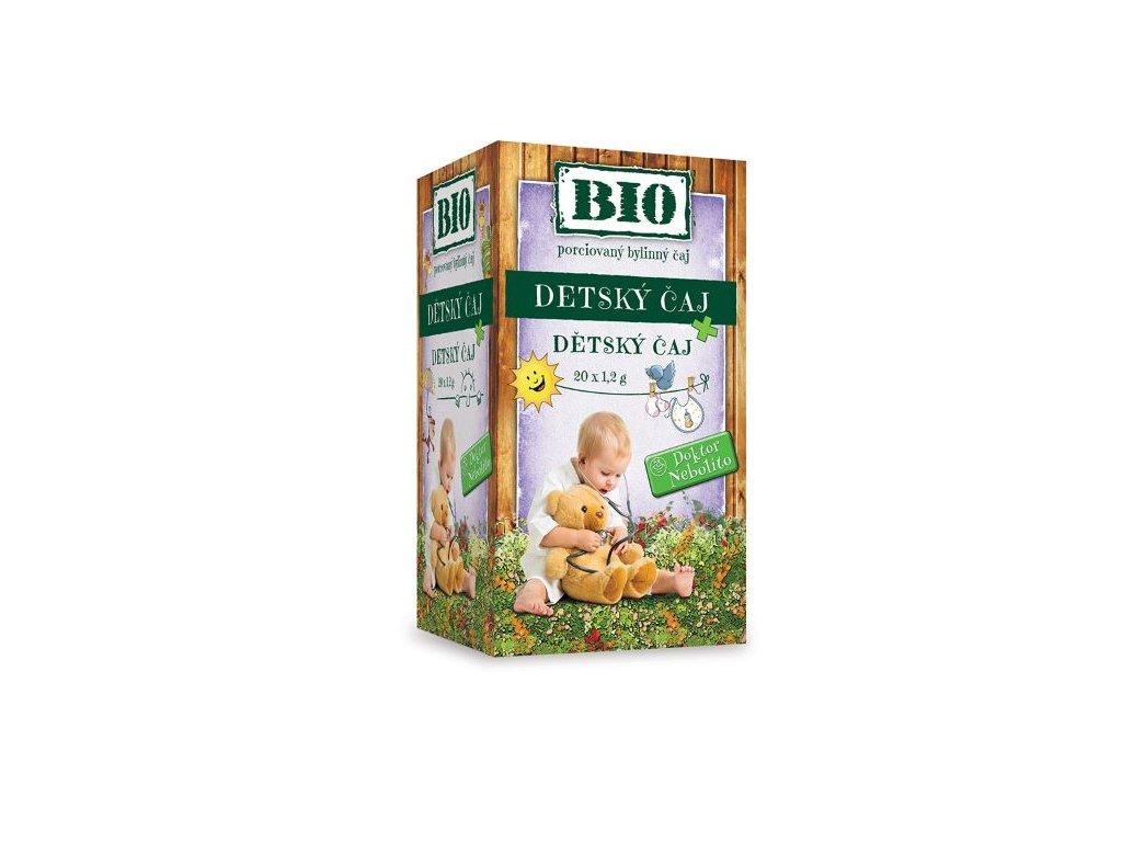 Dr. Nebolíto BIO Dětský čaj