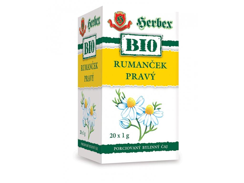 BIO Tea Heřmánek pravý 20x1g