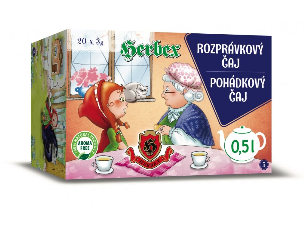 Dětský čaj - pohádkový 20x3g