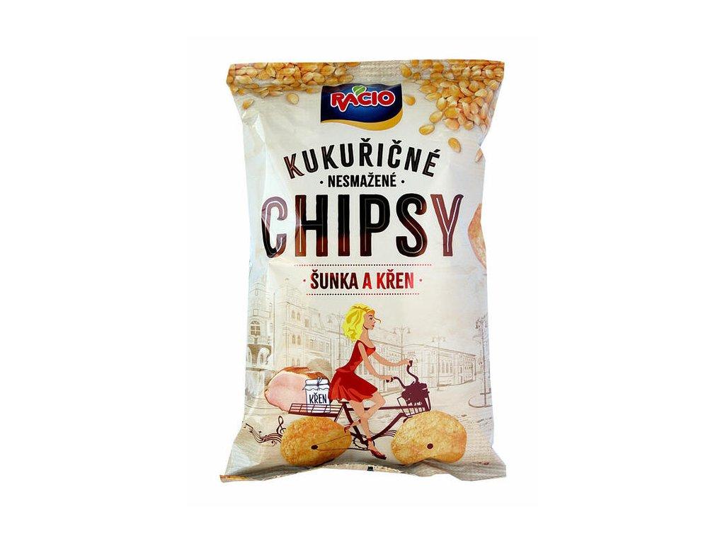 Racio Chipsy šunka a křen 80g Racio