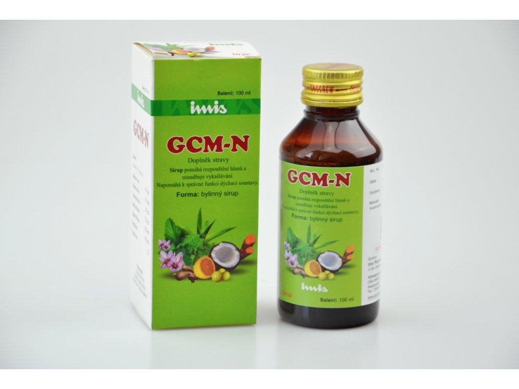 GCM N doplněk stravy na kašel Imis 100ml