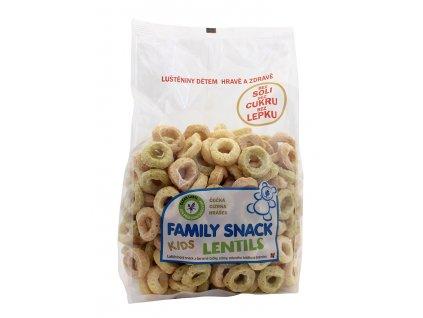 Family snack LENTILS sáček 120g