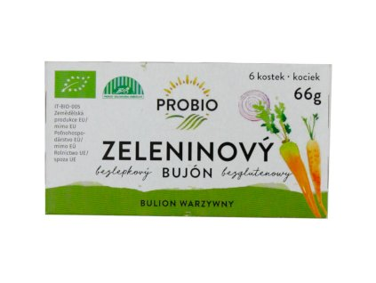 Bujon zeleninový BIO kostky PROBIO
