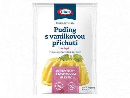 Puding vanilkový bez lepku 40g Labeta