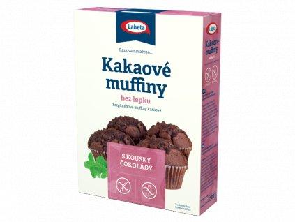 Muffiny kakaové bez lepku 300g Labeta