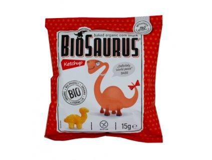 Biosaurus snack kečup 15g McLLOYDS