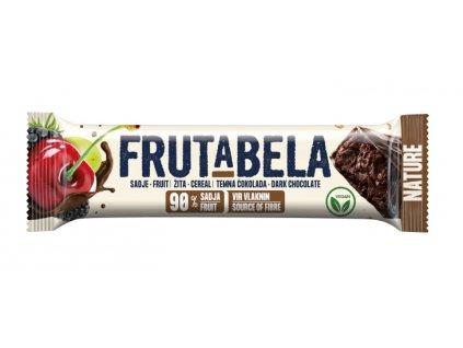 Frutabela nature 7 druhů ovoce v čokoládě bez cukru 35g Fructal