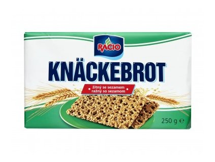 Racio Knackebrot žitný se sezamem 250g Racio