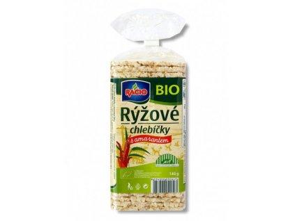 Racio BIO rýžové s amarantem 140g Racio