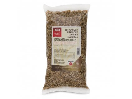 Celozrnné pšeničné lupínky Natural 250g Semix