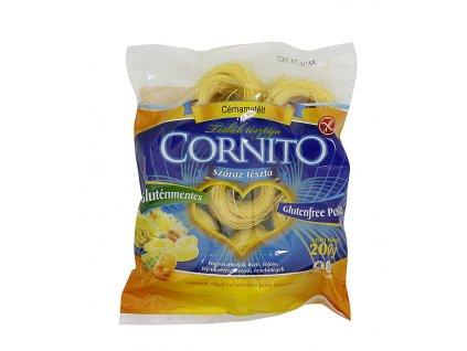Těstoviny vlasové hnízdo bezlep. 200g Cornito