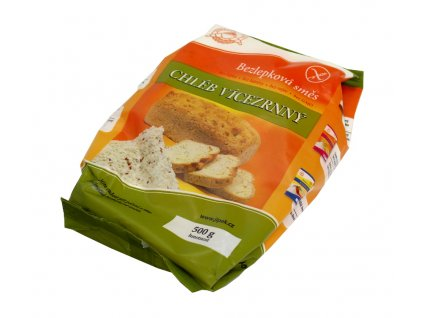Jizerka vícezrnný chléb 500g Jizerské pekárny