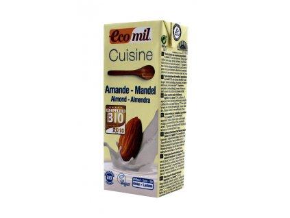 Mandlová alter. smetany s agave sirupem 200ml BIO Ecomil