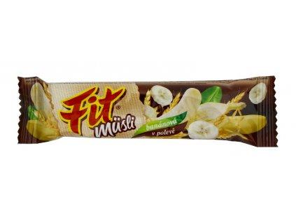 FIT banánová v čokoládě 30g