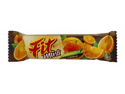 FIT pomerančová v čokoládě 30g
