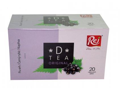 Čaj D-tea originál 20x1,5g REJ