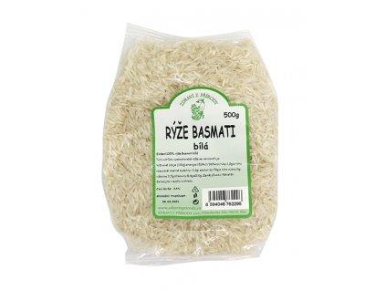 Rýže basmati bílá 500g ZP