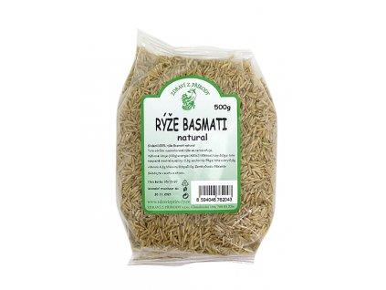 Rýže basmati natural 500g ZP