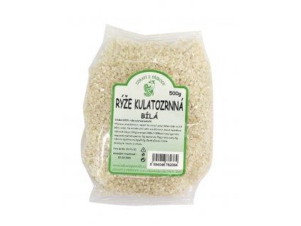 Rýže kulatozrnná bílá 500g ZP